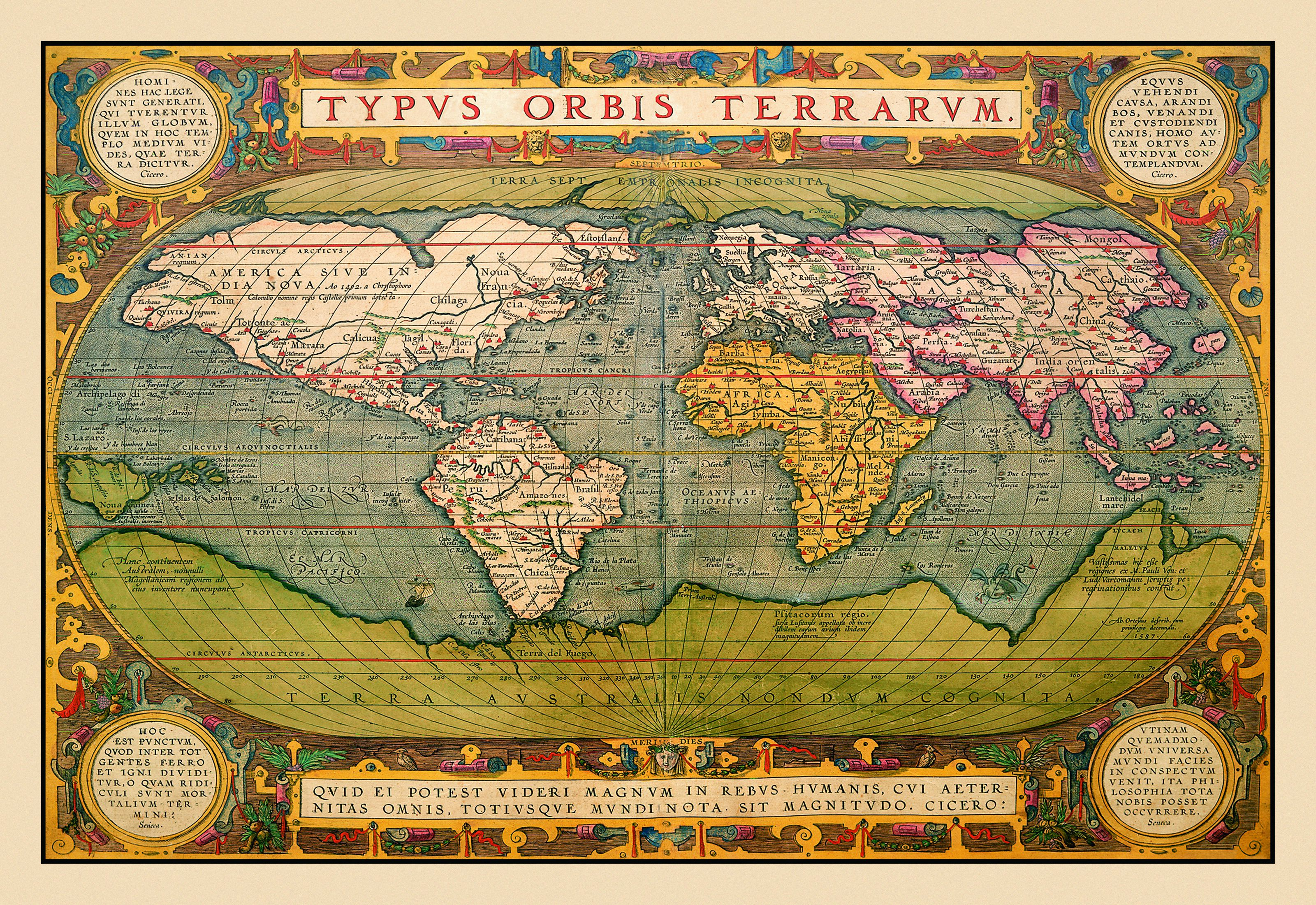 How Maps Can Distort Space and Deceive Us