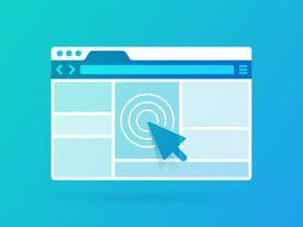 Illustration of browser window
