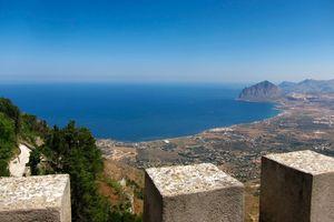 Norman castle in Sicily