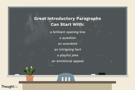 Illustration of paragraph tips
