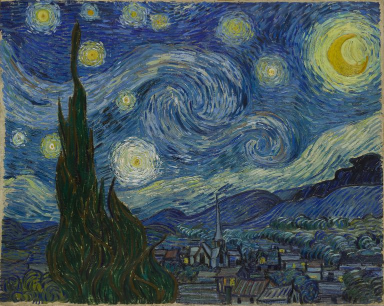 "Vincent van Gogh's ""The Starry Night"""