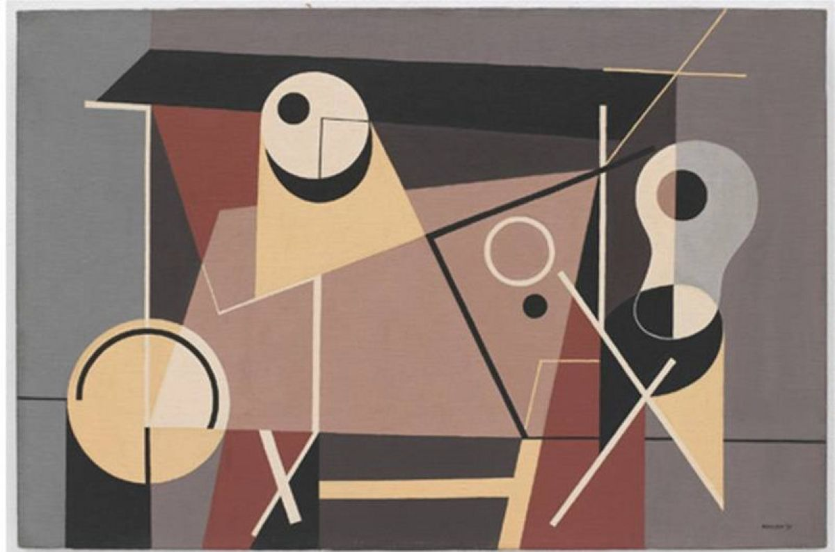 Ad Reinhardt, American Abstract Expressionist Painter