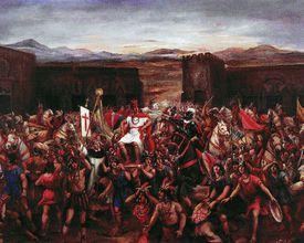 The Capture of of Atahualpa