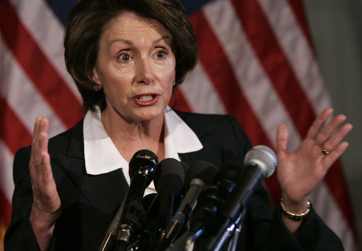 Nancy Pelosi press conference on global warming June 2007