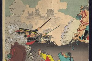 Japanese triumph in the First Sino-Japanese War, 1894-95