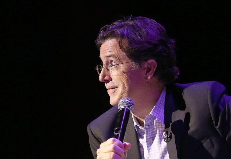 Late show host Stephen Colbert