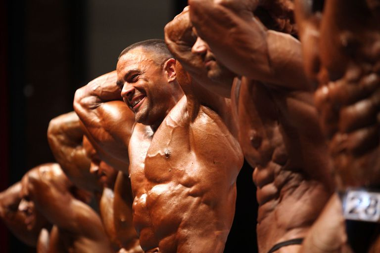 Male bodybuilders