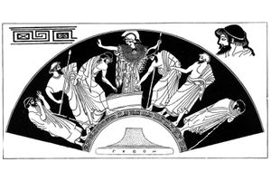 Ajax and Odysseus vote