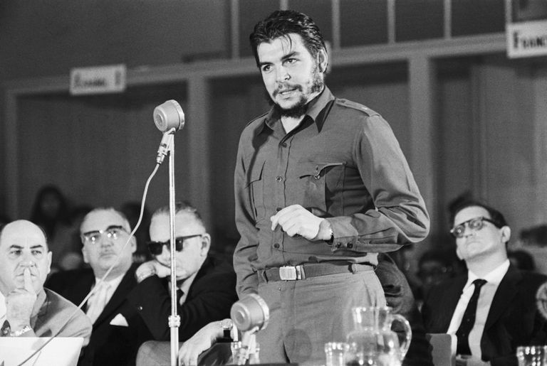 Che Guevara Speaking