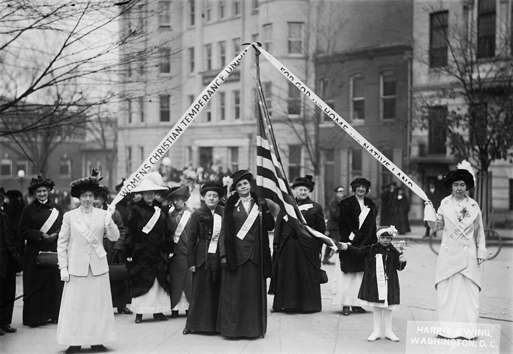 Members of the Women's Christian Temperance Union (WCTU)