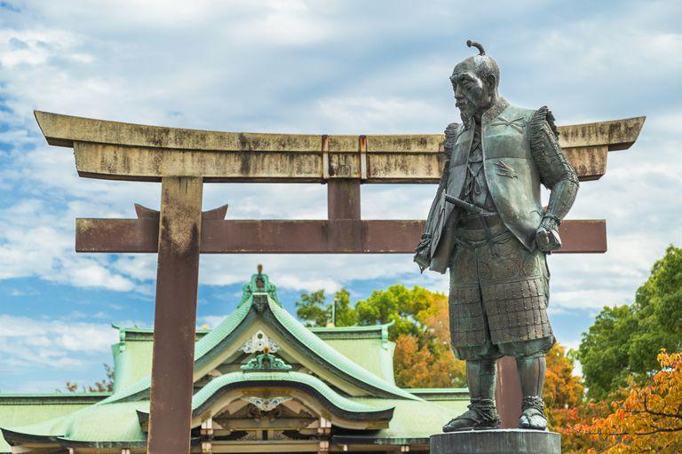 statue of Toyotomi Hideyoshi