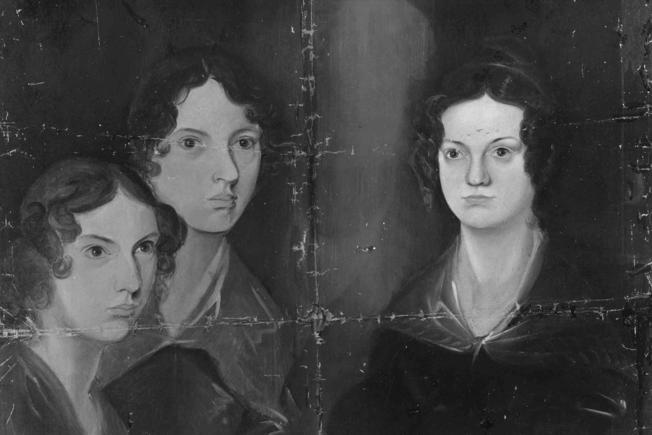 Bronte Sisters, from a painting by their brother