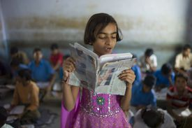 Indian School, Rajasthan, India