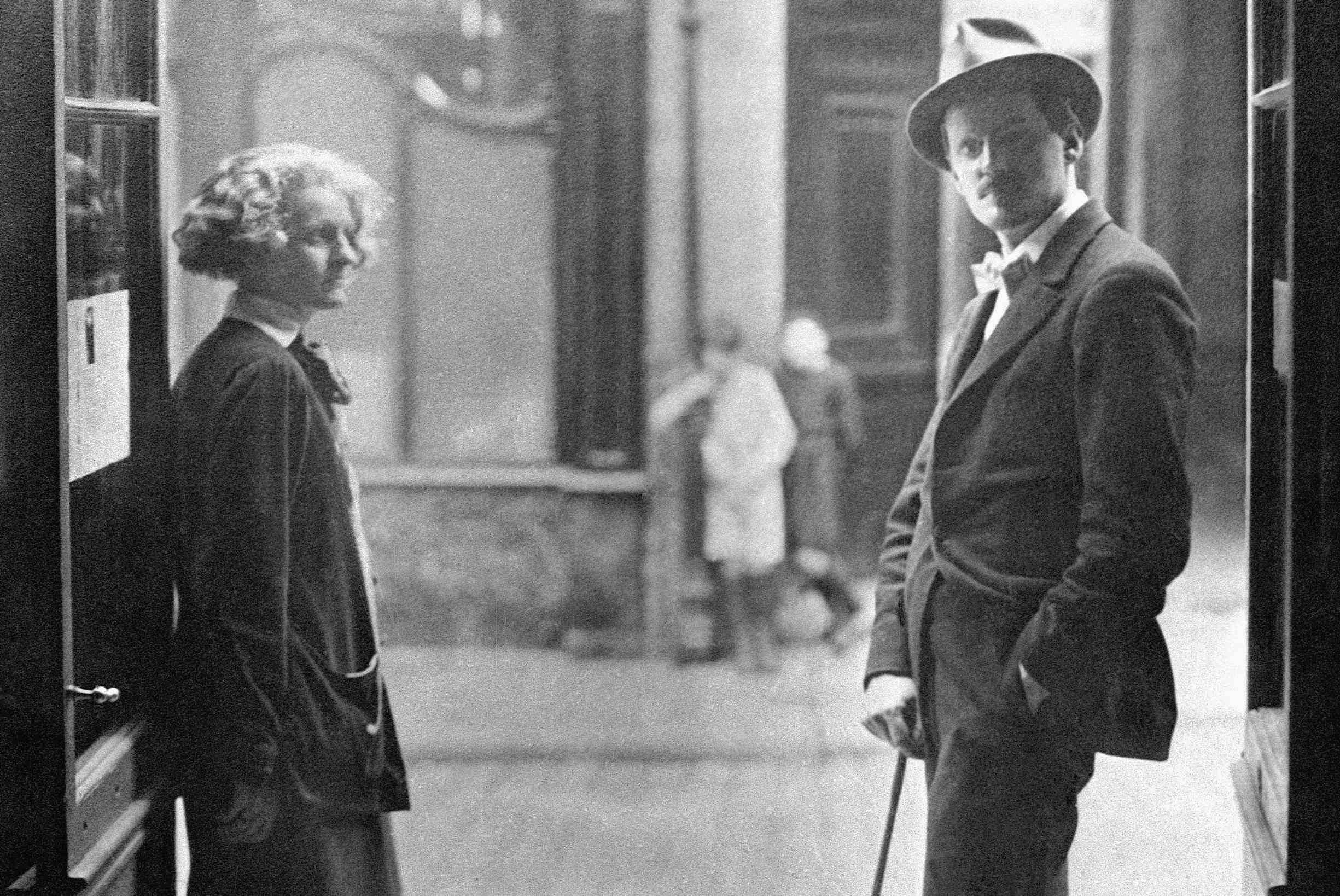 photo of James Joyce in Paris