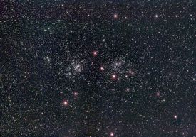 Double Cluster NGC 869 NGC 884 in Perseus