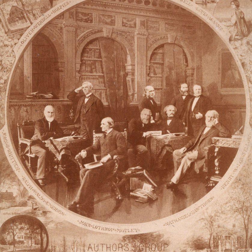 Boston 19th Century academics