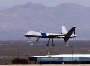 Predator UAV Prowls the US-Mexico Border