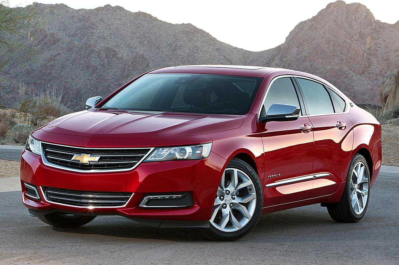 2017 Chevrolet Impala Front View