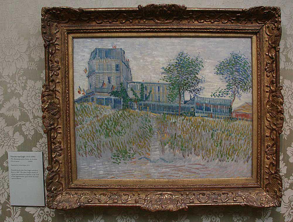 """""""The Restaurant de la Sirene, at Asnieres"""" - Vincent van Gogh"""