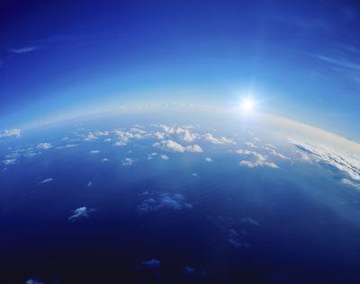 abundant gas in atmosphere