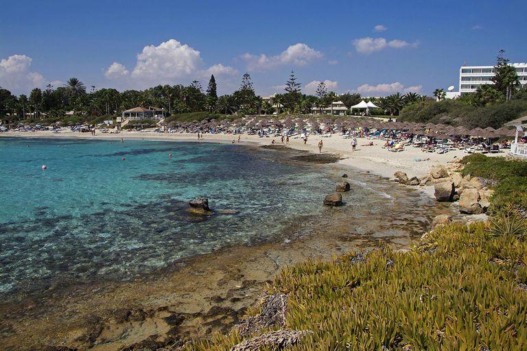 Beaches near Agia Napa, Cyprus