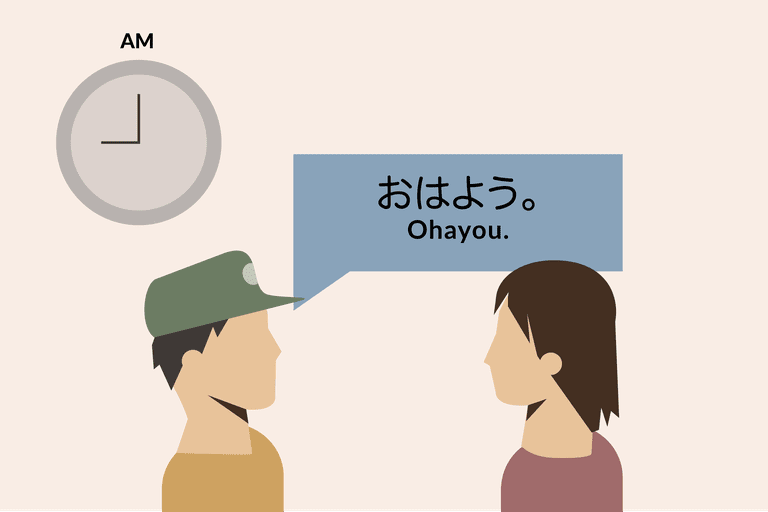 Learn To Say Good Morning Ohayou In Japanese