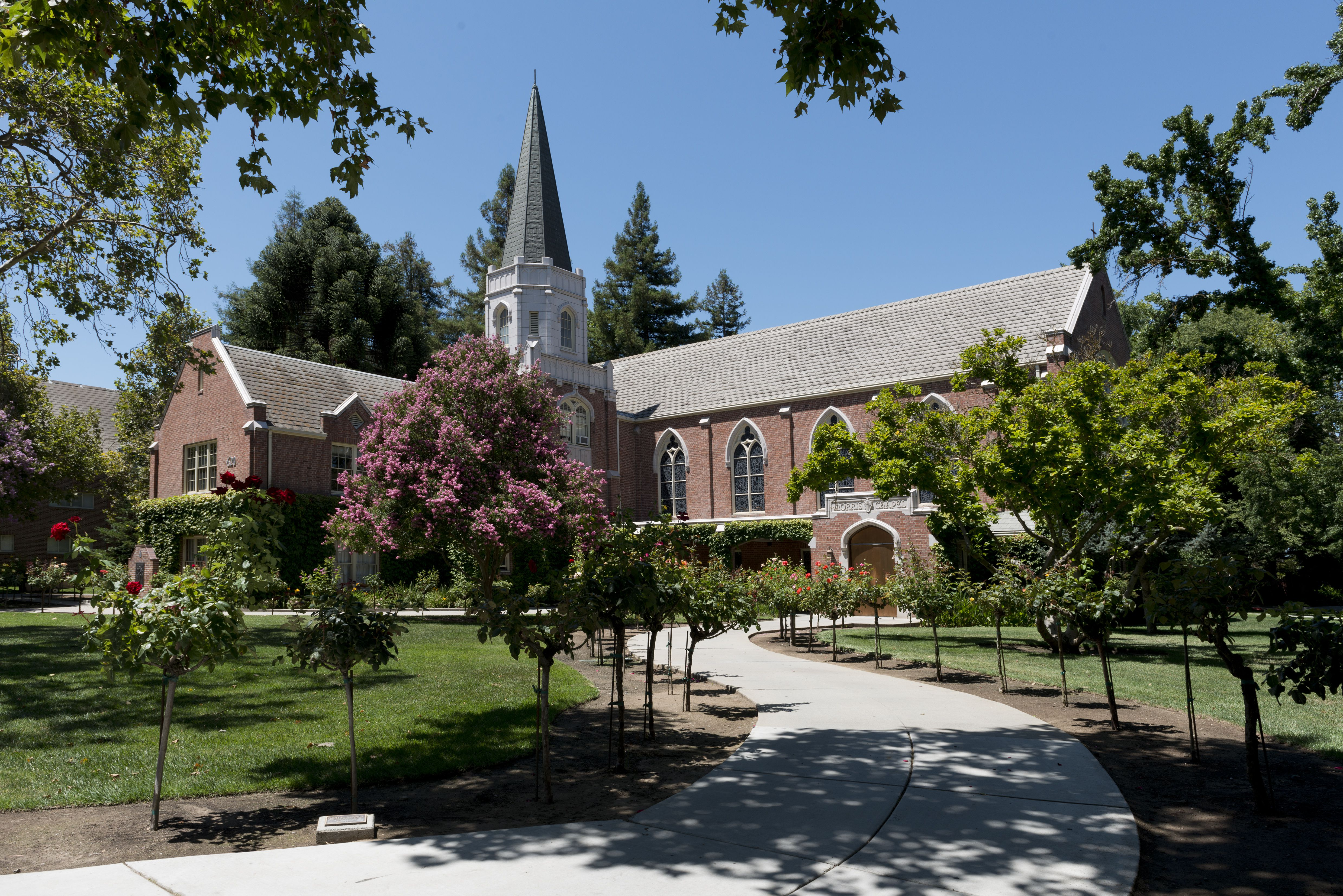 Morris Chapel at the University of the Pacific in Stockton, California