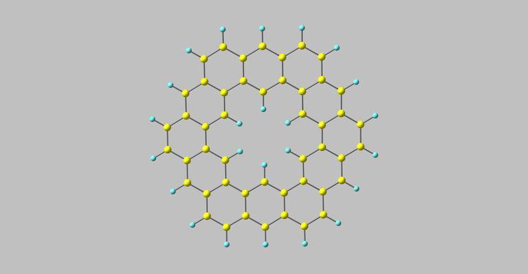 Kekulene molecular structure