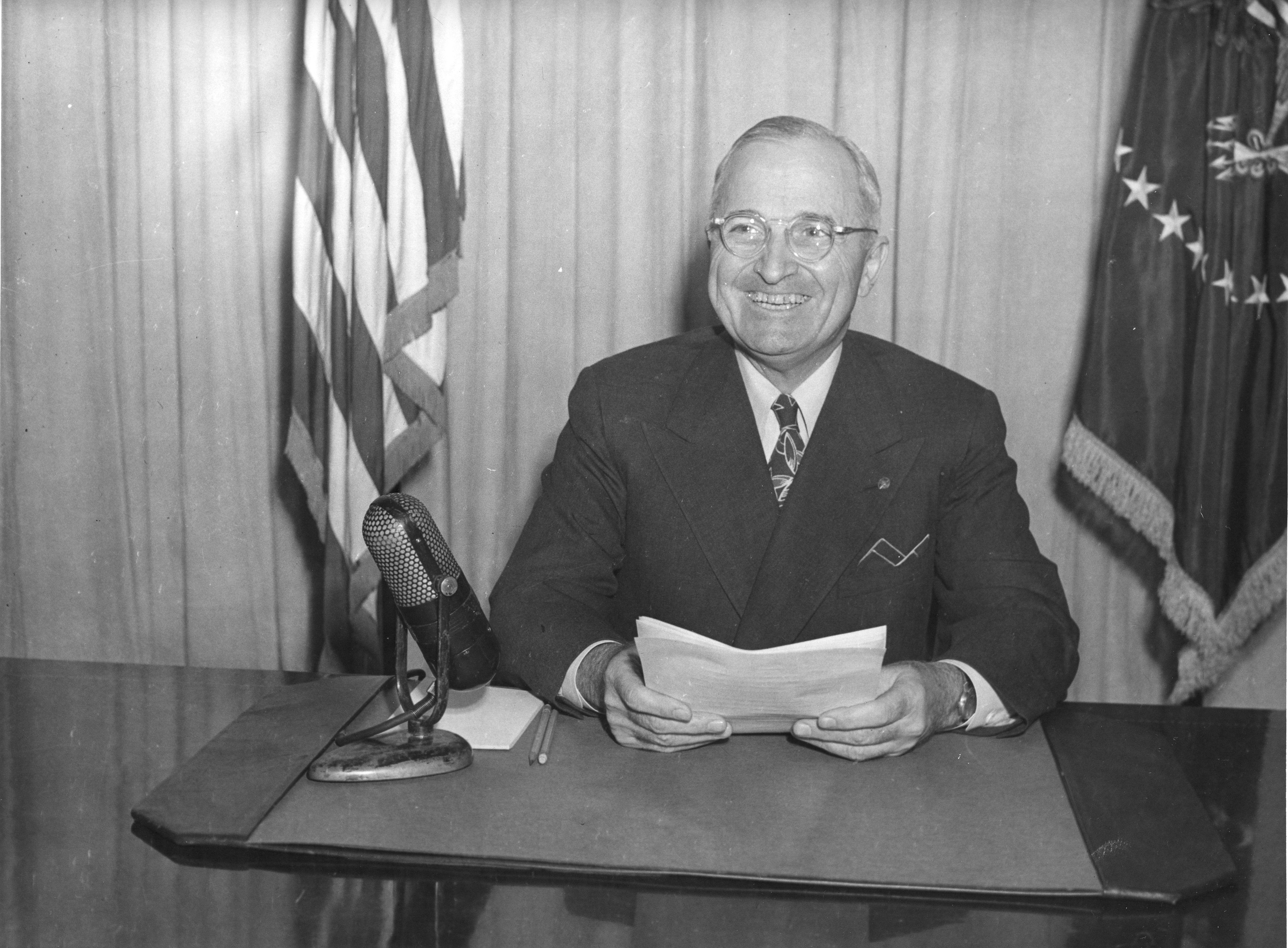 President Harry Truman's radio address