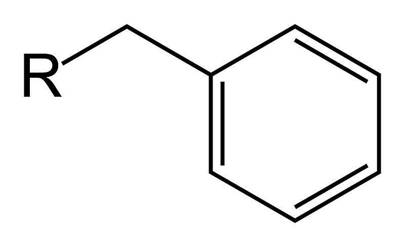 The benzyl functional group is a hydrocarbon functional group derived from toluene.