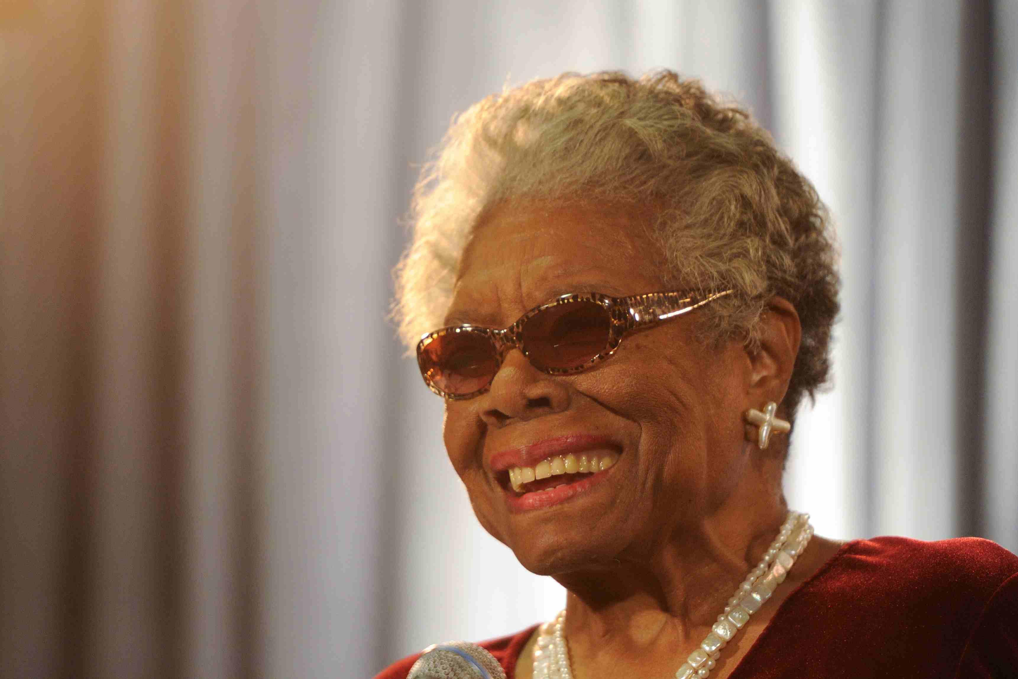 Maya Angelou in 2010
