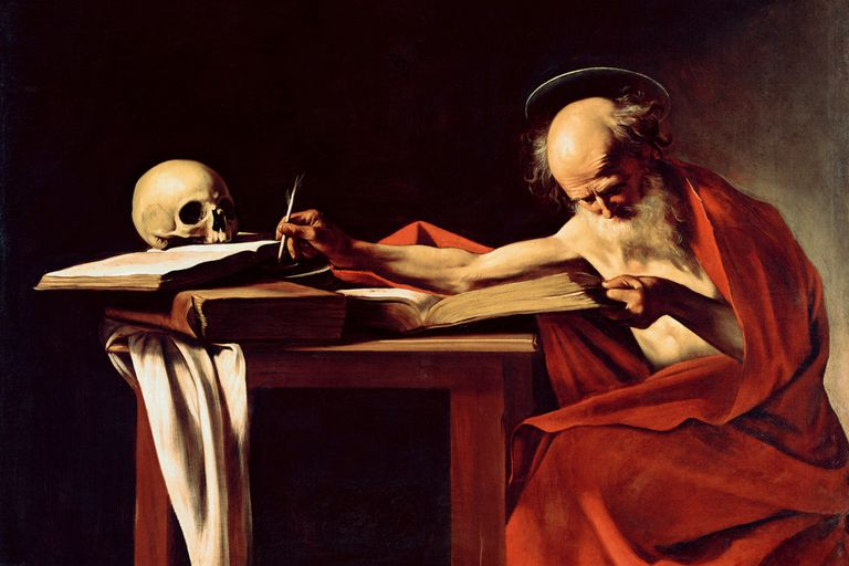 Saint Jerome, by Caravaggio