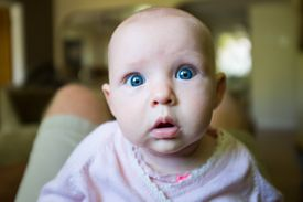 Babies are born with blue eyes