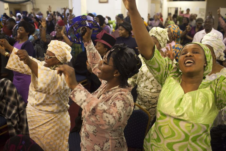 pentacostal congregation