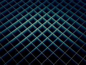 Grid, full frame illustration.