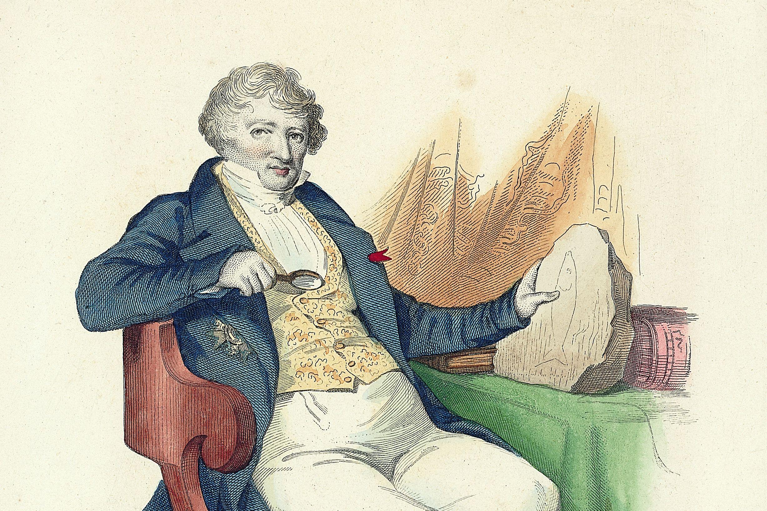 Απολιθώματα ψαριών Georges Cuvier