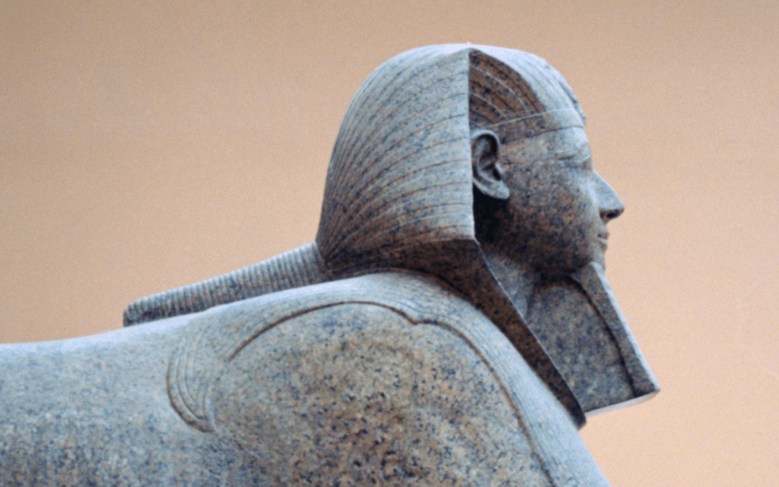 Sphinx με το πρόσωπο του Hatshepsut