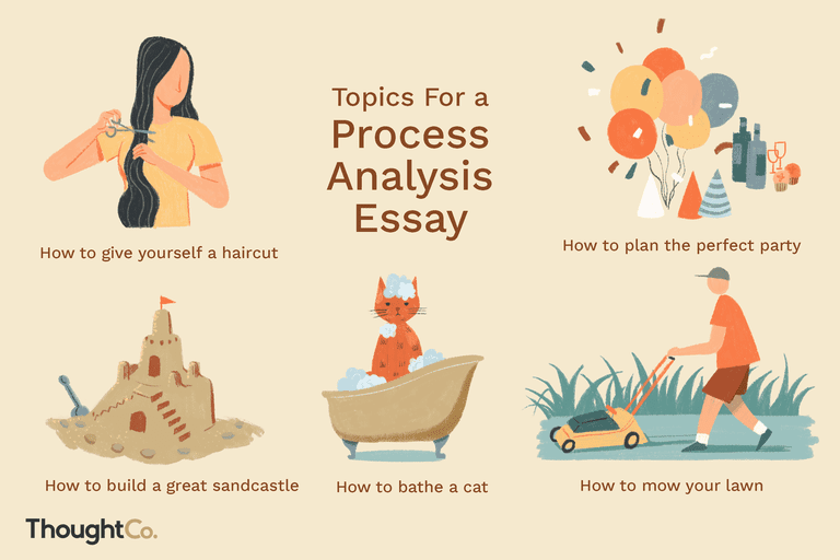 Topics for a process analysis essay