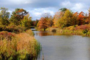 Scenic vista, Presque Isle State Park, along Lake Erie, Erie, Pennsylvania