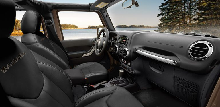 Jeep Wrangler Unlimited 2017 Interior