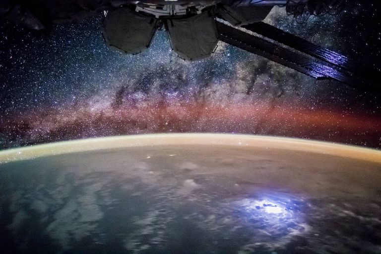 doing astronomy from the international space station
