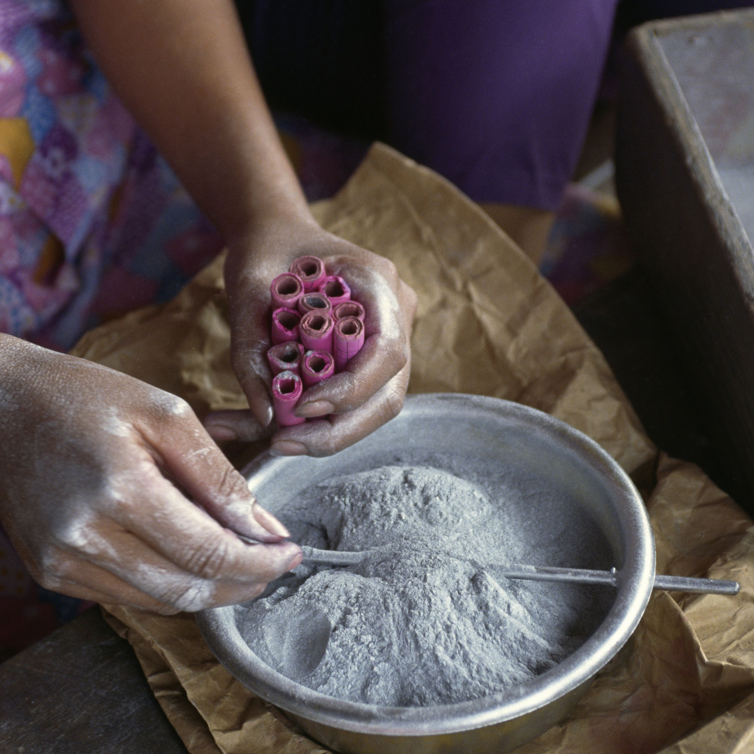 Chemical Composition Of Black Powder Or Gunpowder