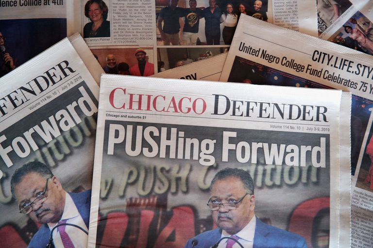 Chicago Defender newspapers