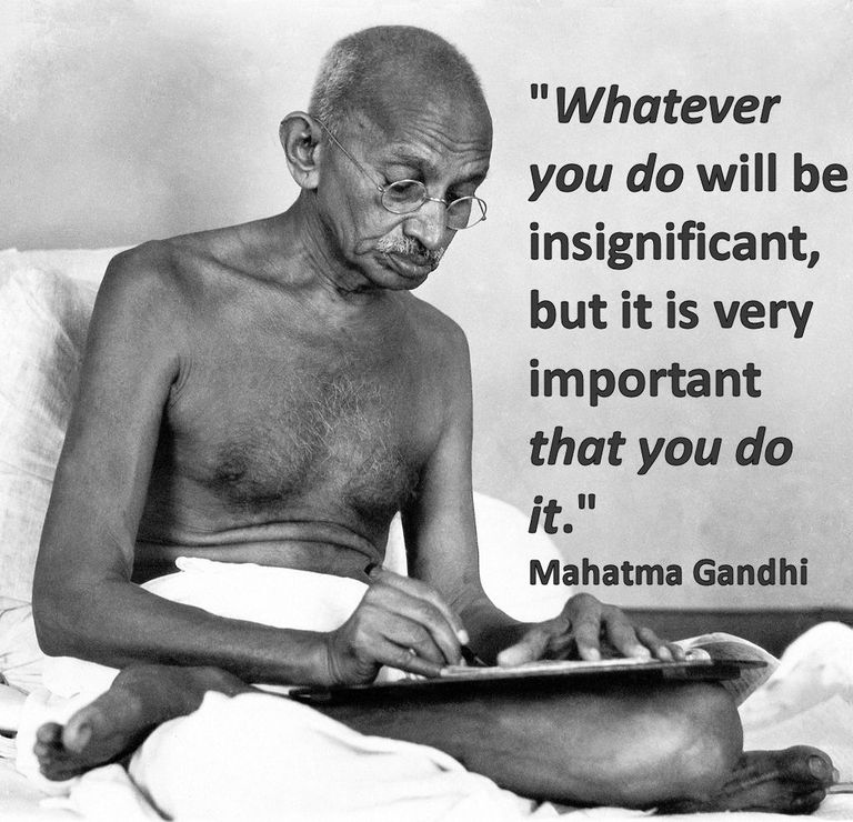 quote by Gandhi