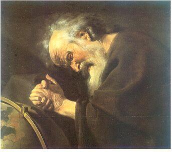 Heraclitus by Johannes Moreelse.