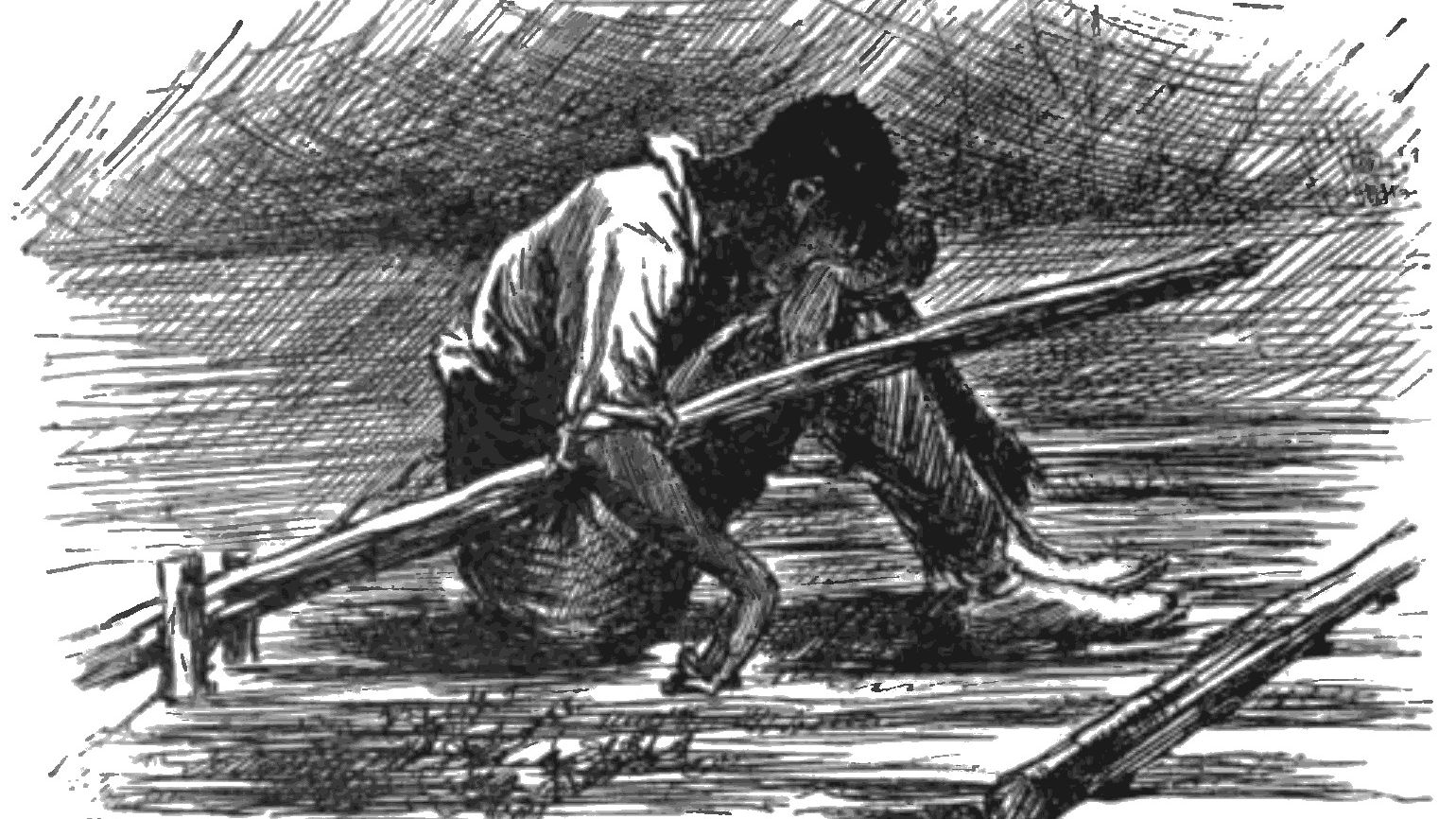 quote examples of satire in huck finn