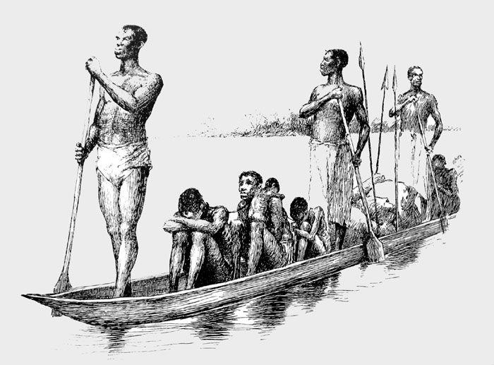 A Slaver's Canoe