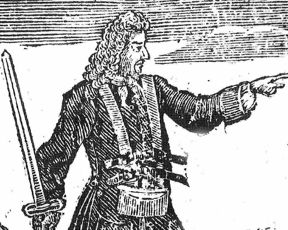 Engraving of Charles Vane