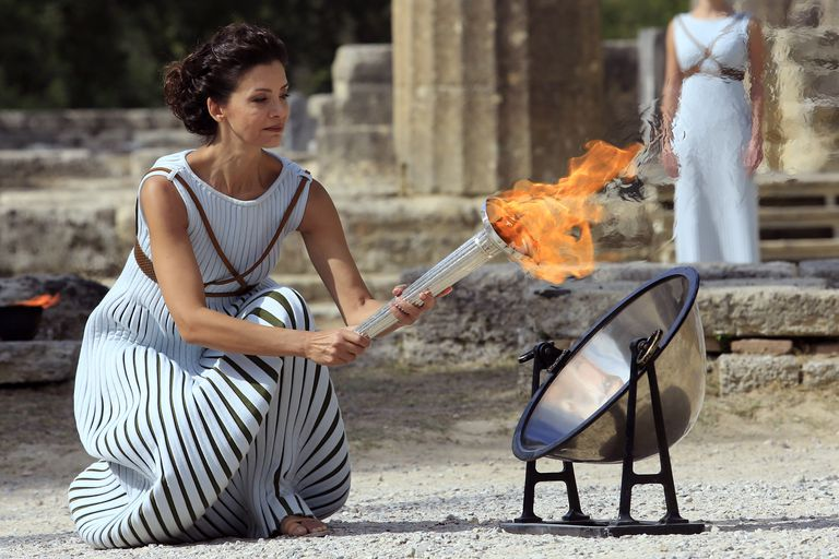 Rehearsal of Lighting and Handover Ceremonies of the Olympic Flame for PyeongChang 2018