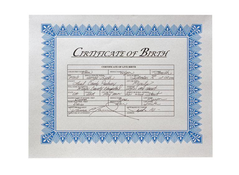 Cómo obtener una copia del certificado de nacimiento